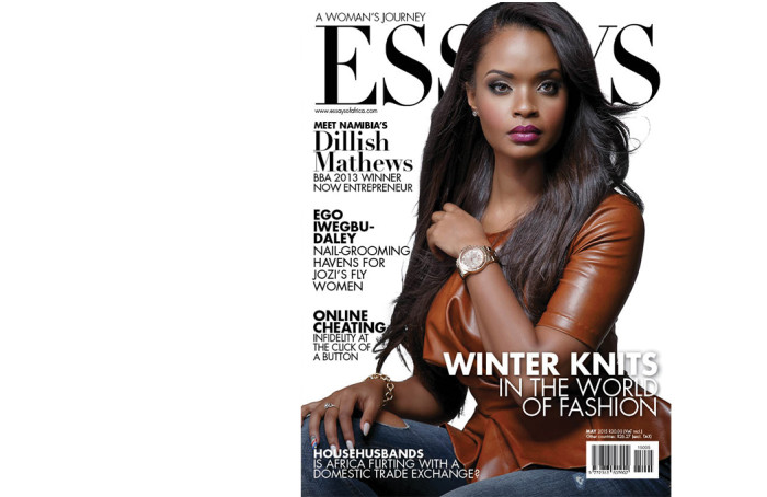 big brother season  winner dillish mattews is the cover star for  the may  issue of womens lifestyle magazine essays of africa is dedicated to mothers and great women one of such great women is big brother africa