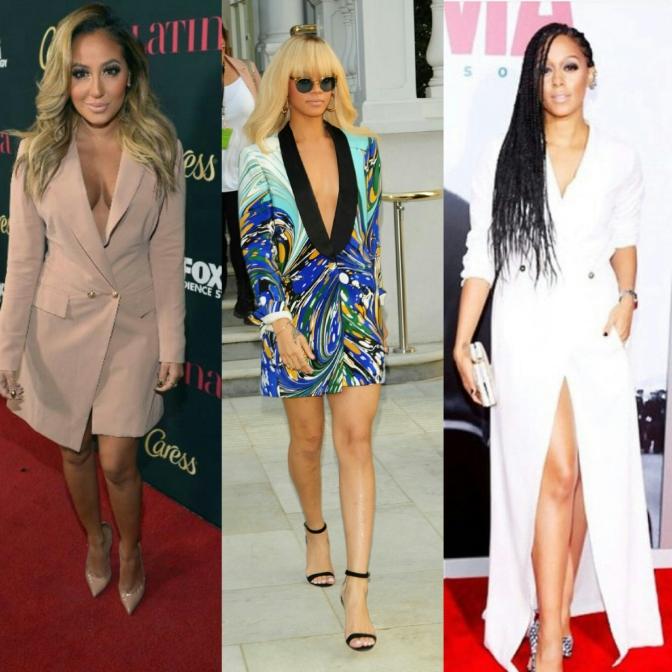 #Trends  – Blazer Dress