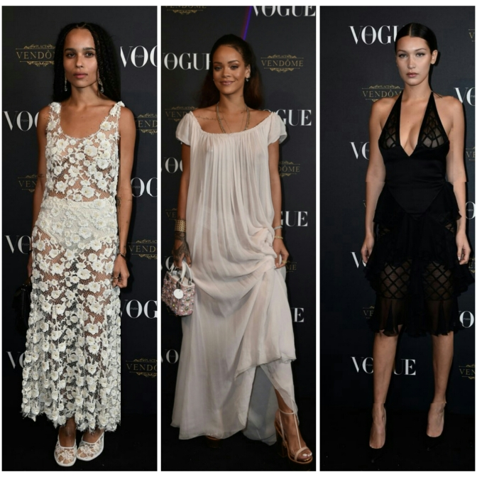 """Rihanna, Kris Jenner, Kanye West and More """"Turn Up"""" For Vogue's 95th Anniversary Party"""