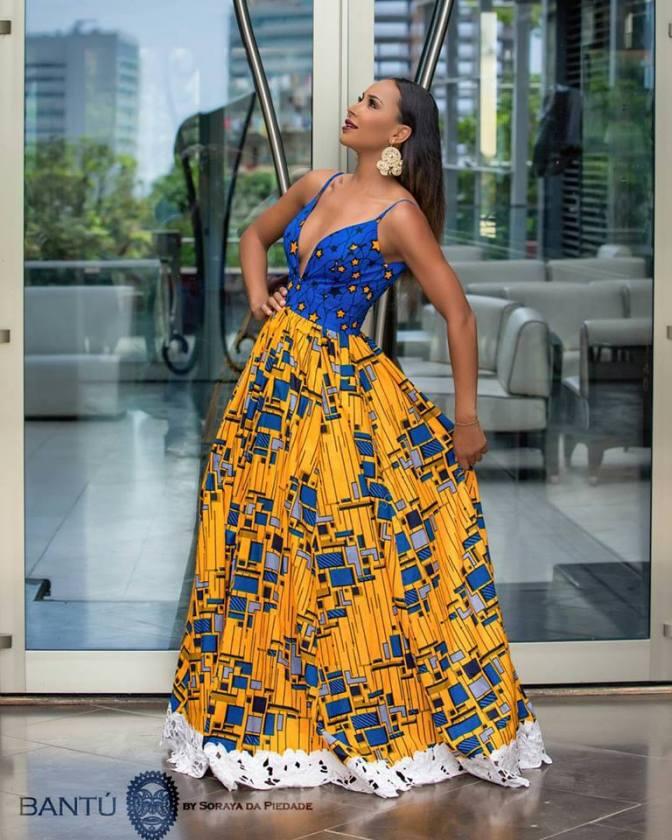 View Fab Pieces From Angolan Fashion Designer Soraya Da Piedade