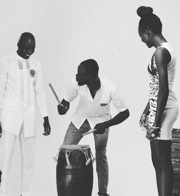 Ghanaian Fashion Designer Abrantie Has A New Collection Coming Up! See Behind The Scenes Footage