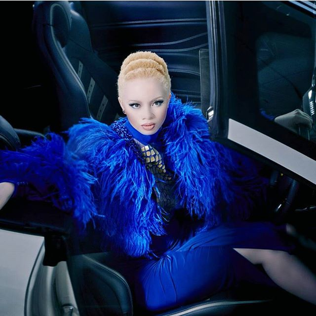 Meet Thando Hopa: A South African Albino Model Who Refuses To Be 'Put In A Box'