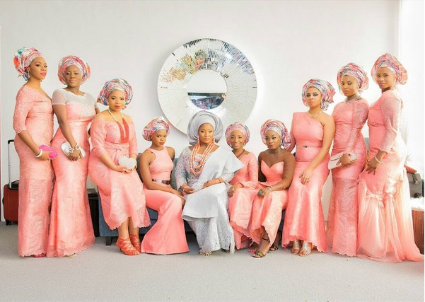 Wedding Bliss! See Photos From The Traditional Wedding Toolz and Tunde Demuren