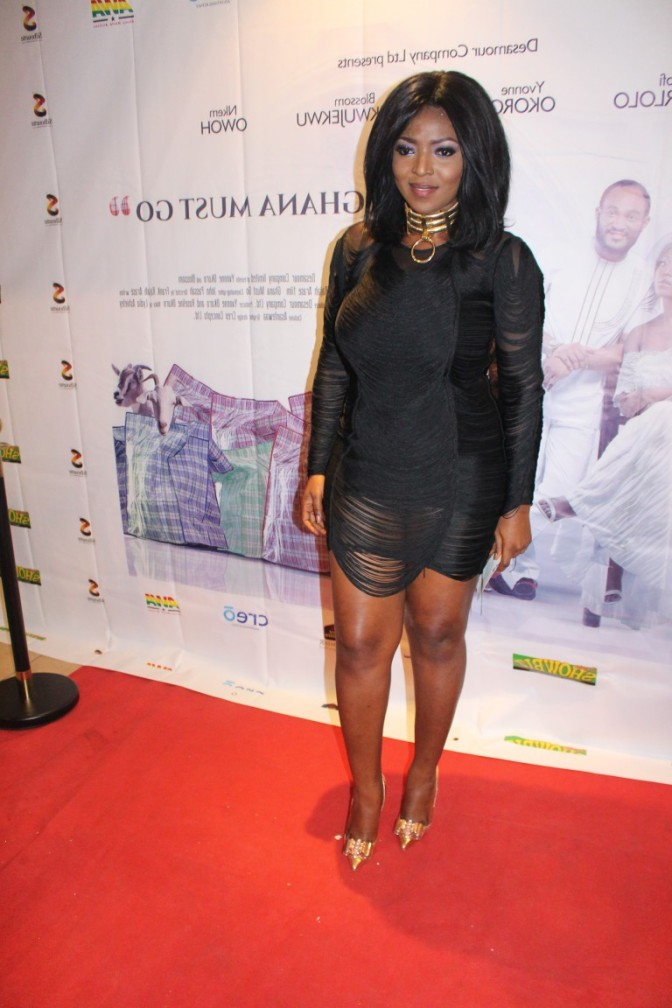 What Yvonne Okoro, Lydia Forson & More Wore To 'Ghana Must Go' Premiere