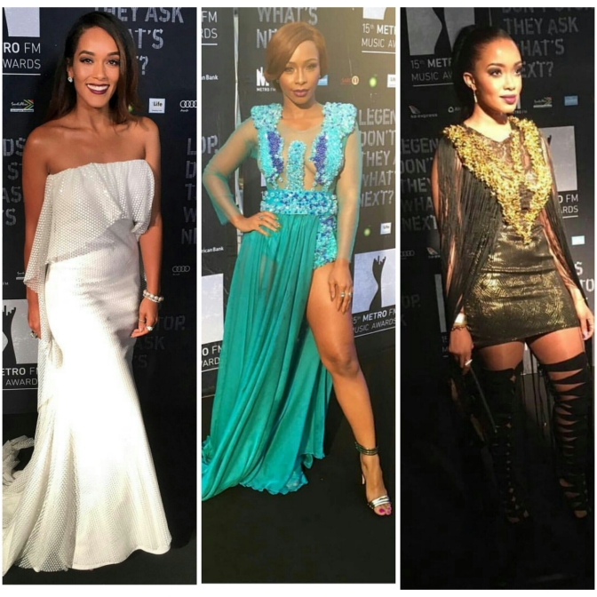 All The Stunning Fashion Moments From The 2016 Metro FM Awards