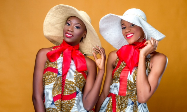 Let's Take It Back To The 50's! Ade Bakare Unveils Ankara Collection