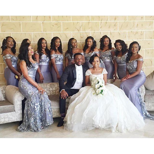 All The Beautiful Guests At Nigeria's Ebuka Obi-Uchendu & Cynthia Obianodo's Wedding