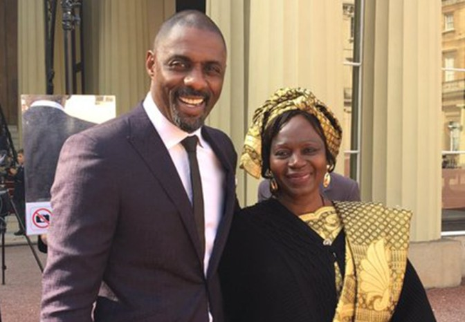Meet The Mama Of Idris Elba! The Actor Was Awarded An OBE At The Buckingham Palace Today