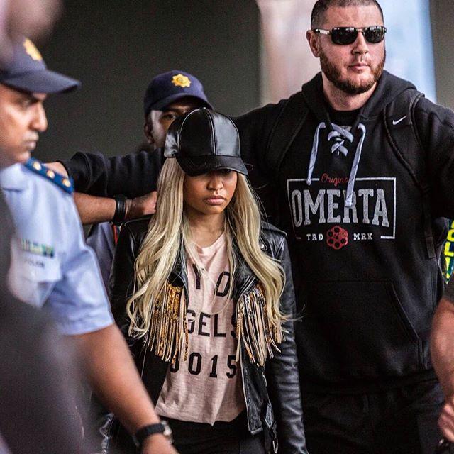 Nicki Minaj Receives An Interesting Welcome In Durban, South Africa