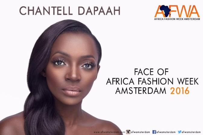 Model Chantell Dapaah Unveiled As The Face Of Africa Fashion Week Amsterdam 2016