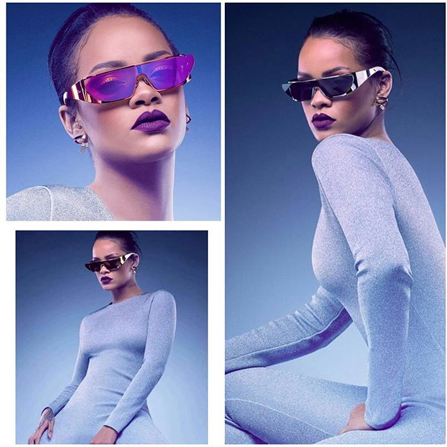 Rihanna Takes Us Into The Future With Her New Sunglasses Line In Collaboration With Dior