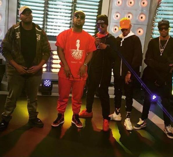 DJ Slim, Cassper Nyovest, Emtee & More Unveil The Visuals To Their New Song 'Phanda Mo'
