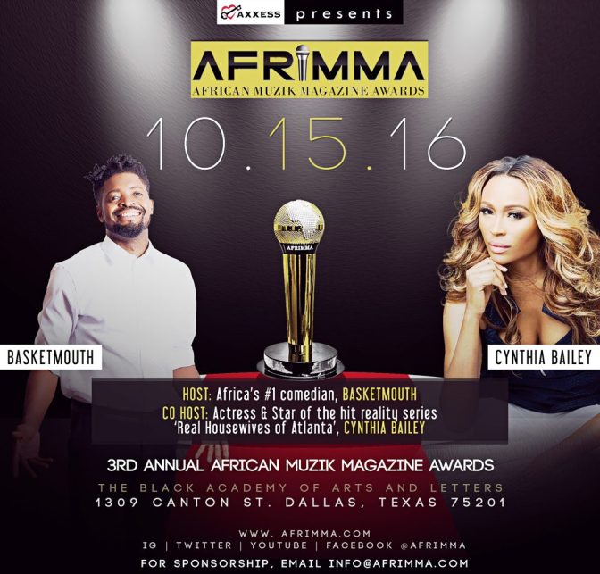 Wizkid, Sarkodie, Efya, AKA, Diamond Platnumz & More. Vote For Your Favourite African Act To Win At The AFRIMA 2016