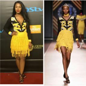 From Runway to Real Life: Jessica Nkosi In SA Fashion Label Khosi Nkosi