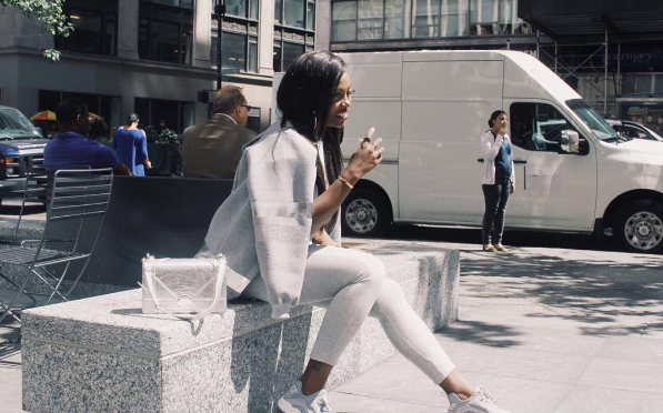 Tiwa Savage Gives Us Fabulous Street Style Vibes As She Hits New York City