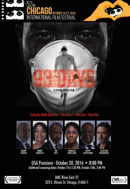 From Canada To USA: '93 Days' Will Be The Only Nollywood Movie To Premiere At The Chicago International Film Festival 2016