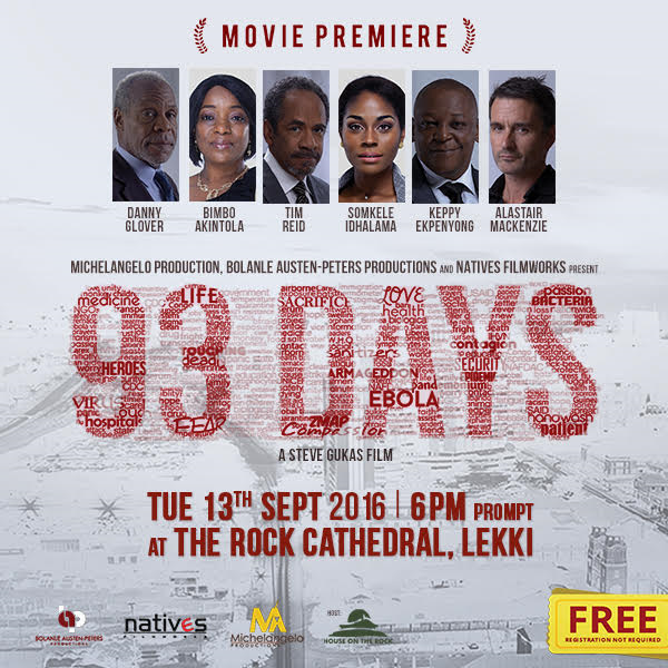 '93 Days' Premiers In Lagos This September