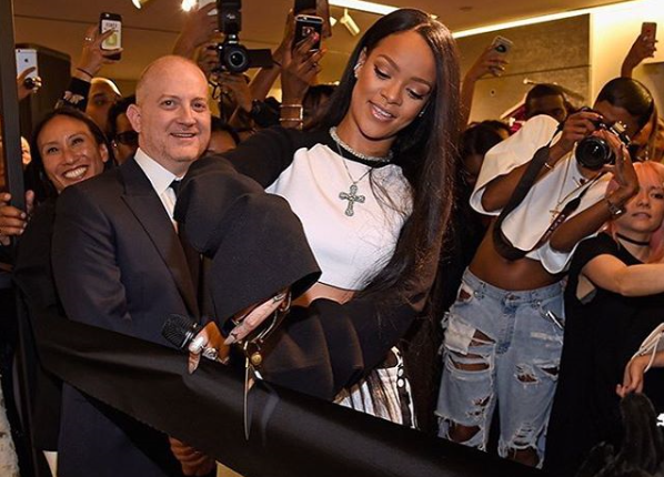 Rihanna Officially Launched Her Fenty X Puma Line In New York City Today