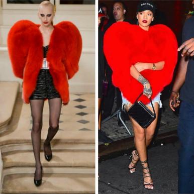 Hot Shots: Rihanna In YSL