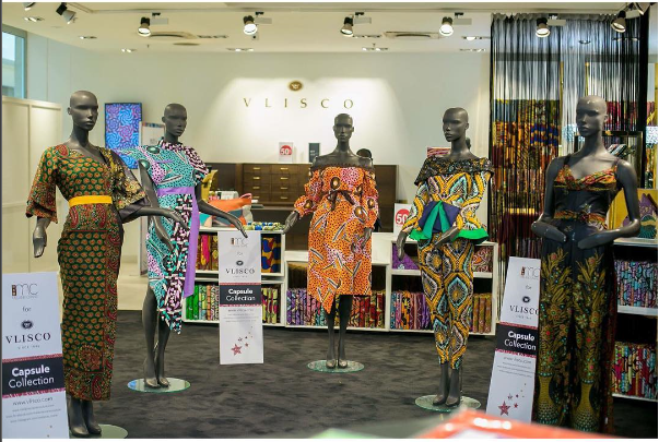 Vlisco Teams Up With Ghanaian Fashion Label Melanie Crane For Their Capsule Collection