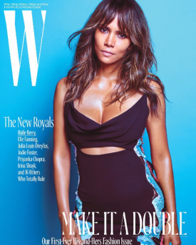 Meet The 2016 Royals: Halle Berry, Kanye West, Kit Harrington, Chiwetel Ejiofor & More Cover W Magazine's October Issue