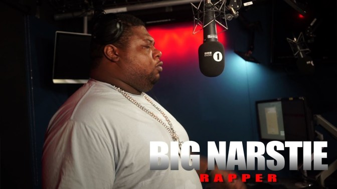 Video: UK Grime Act Big Narstie Tells His Story On BBC 1Xtra's 'Fire In The Booth'