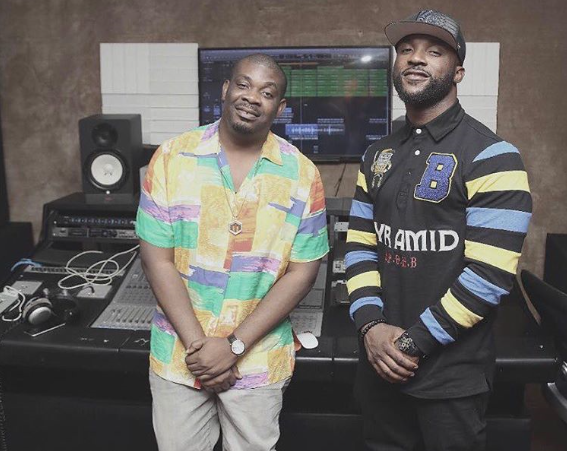 It's Official! Don Jazzy Welcomes Iyanya To Mavin Records