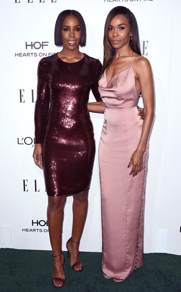Hot Shots: Kelly Rowland, Lupita Nyong'o & More At The 2016 Elle Women In Hollywood Awards