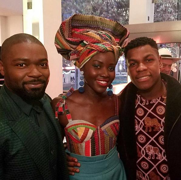 Lupita Nyong'o, John Boyega, David Oyelowo & More At The London Premiere Of Queen of Katwe