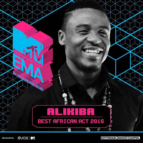 Tanzania's Alikiba Responds To Internet Trolls After MTV EMAs Stripped Wizkid Off His Award