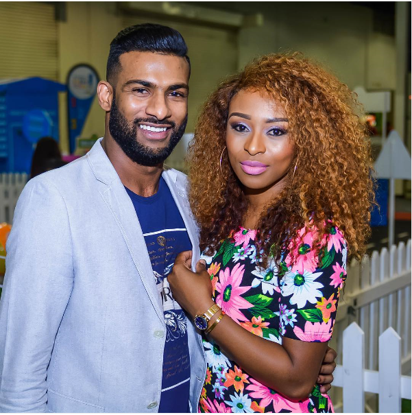 """""""I am Blessed To Call You My Man"""" – DJ Zinhle Shows Off Her Bae Brendon Naidoo"""