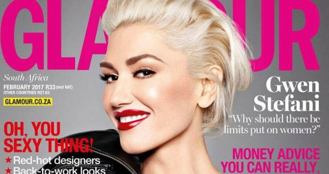 Hot Shots: Gwen Stefani Covers Glamour South Africa