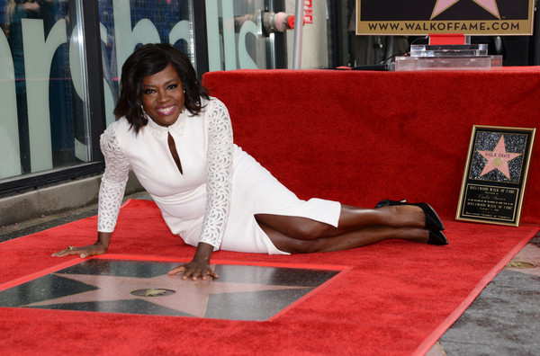 Photos: Viola Davis Honoured With A Star On The Hollywood Walk of Fame