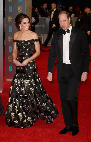 Viola Davis, Prince William, Kate Middleton & More At The 2017 British Academy Film Awards (BAFTAs)
