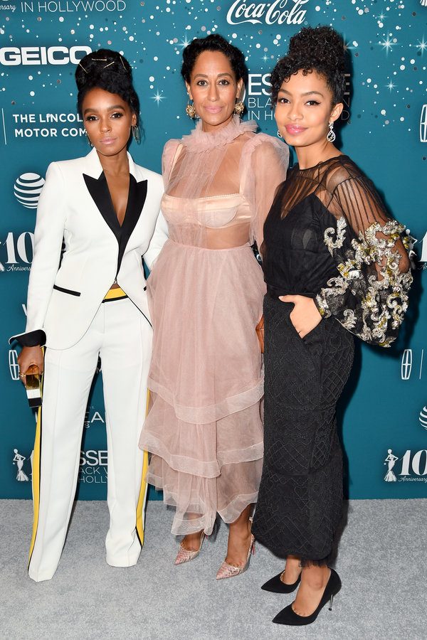 Kofi Siriboe, Viola Davis, Terry Pheto, Janelle Monae & More At The Essence Black Women In Hollywood 2017