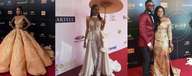 Red Carpet Bliss: Funke Akindele, Nana Akua Addo, Lira, RMD & More At The Africa Magic Viewers' Choice Awards ( #AMVCA2017)
