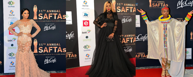 Fabulous Fashion Moments At The 11th Annual South African Film & Television Awards (#SAFTAs11)